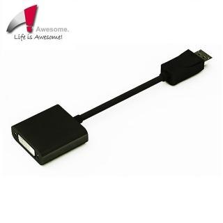 【Awesome】支援ATi Eyefinity主動式DP to DVI轉接器(A00240013)