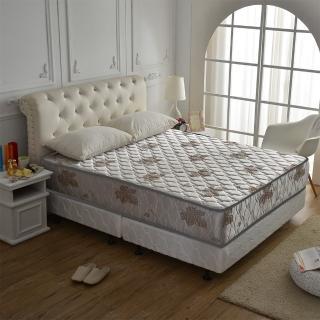 【睡芝寶】超涼感乳膠抗菌(側邊強化獨立筒床墊-雙人5尺-涼爽紗)