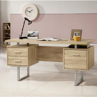 【康迪仕】五尺電腦書桌-淺木色(工作桌/書桌/辦公桌)