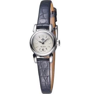 【玫瑰錶 Rosemont】骨董風玫瑰XI時尚腕錶(TRS 48-03-LBK)