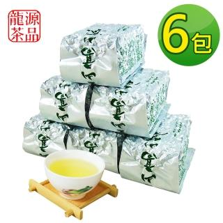【龍源茶品】阿里山-頂級香醇金萱茶葉6包組(150g/包 - 共1.5斤/附提袋-春茶鮮摘)