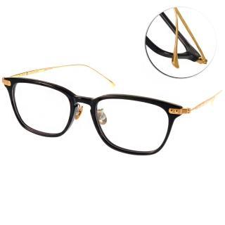 【NINE ACCORD 眼鏡】β鈦金屬系列簡約款(黑-金#UNION US C01)