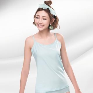 【莎薇】天絲A100系列 M-LL 細肩帶背心款蘭姿(淺藍)