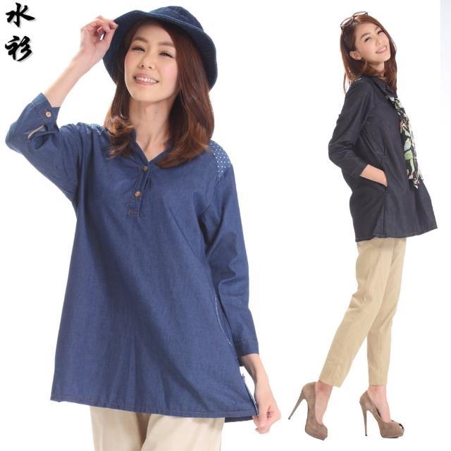【水衫】柔美簡約牛仔上衣五件組(E09-04)