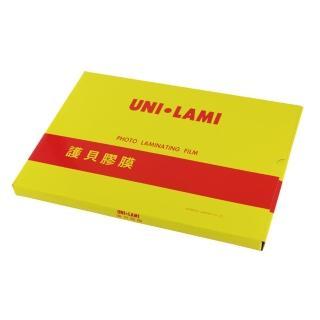 【威力牌UNI-LAMI】高級護貝膠膜/A4/80μ/100張/盒(護貝)