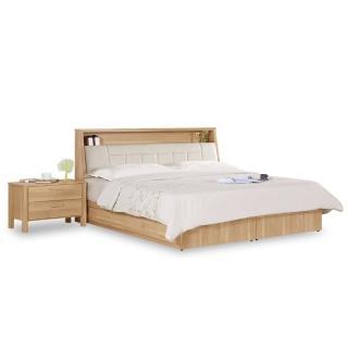 【時尚屋】波里斯5尺被櫥式雙人床-不含床頭櫃-床墊 C7-575-2免運費(臥室)