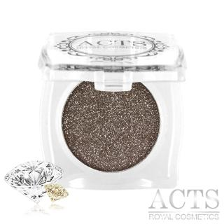 【ACTS維詩彩妝】魔幻鑽石光眼影 可可金鑽D611