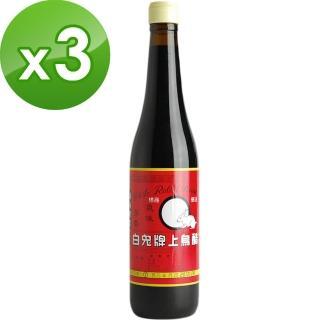 【白兔牌】烏醋(500ml)x3入