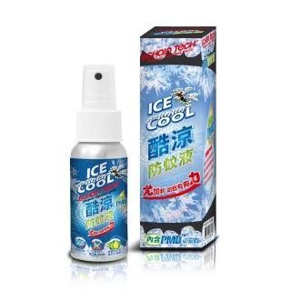 【ECHAIN TECH】熊掌防蚊液 -酷涼型60ml(PMD配方 -安全且有效)