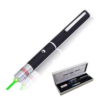 綠光雷射筆 簡報筆 附電池*2 精美盒裝