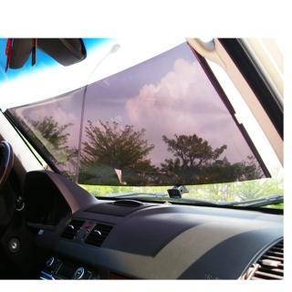 【omax】透明前窗隔熱玻璃紙-2入