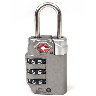 【YESON】旅用海關三碼鑰匙鎖(MG-2510)