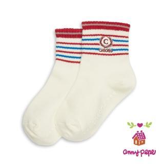 【annypepe】兒童純棉短襪-橫條款