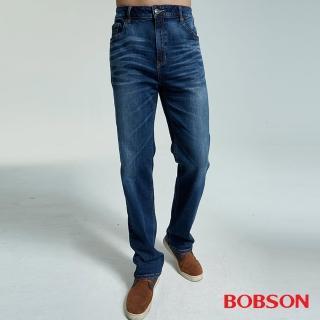 【BOBSON】男款大彈力中直筒褲(1830-53)