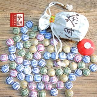 【茶韻普洱茶事業】農產檢驗合格嚴選迷你沱系列250g四種口味任選(買就送蘭香普洱立體茶包可累計呦)