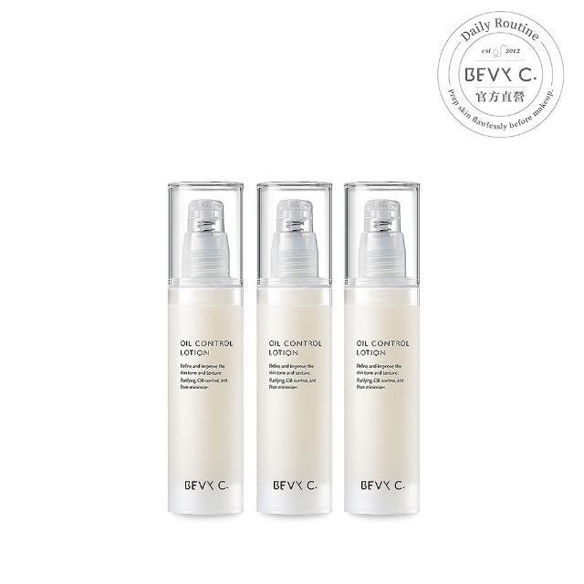 【BEVY C.】油脂平衡控油凝乳3件組