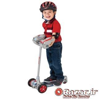 【美國 Razor Jr.】Robo Kix Scooter 機器人(兒童三輪滑板車)