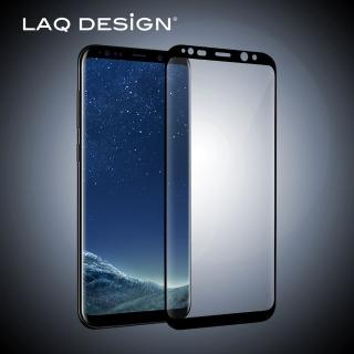 【LAQ DESIGN】Samsung Galaxy S8 Plus 鋼化玻璃保護貼(黑框)