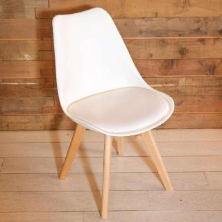 【IDEA】Hildr 北歐系列皮革設計休閒椅(餐椅/戶外椅)