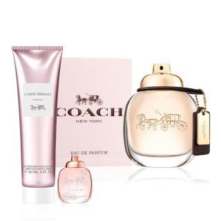 【COACH】COACH時尚經典女性淡香精90ml(贈送同款小香乙瓶+身體乳150ml)