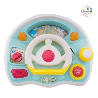 【RUNALAND】寶寶聲光駕駛樂(附贈親子共遊圖卡)