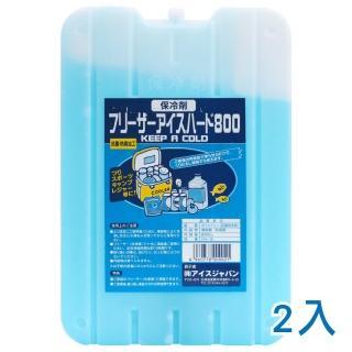 【急凍日本】抗菌保冰磚 - 800g - 2入(冰磚 保冷劑)