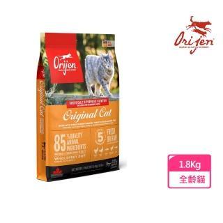 【渴望Orijen】挑嘴貓配方 成幼貓專用 野牧鮮雞(1.8公斤)