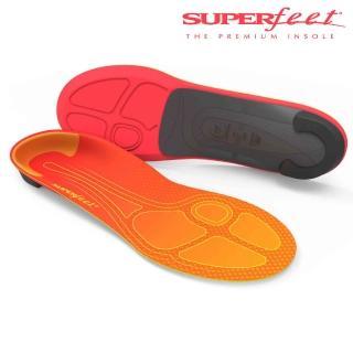 【美國SUPERfeet】碳纖維馬拉松路跑鞋墊(橘色舒緩款)