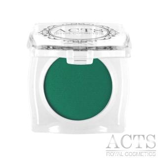 【ACTS 維詩彩妝】霧面純色眼影 深綠4306