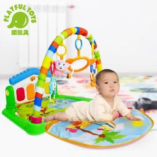 【Playful Toys 頑玩具】腳踏鋼琴健身架(嬰兒健力架)