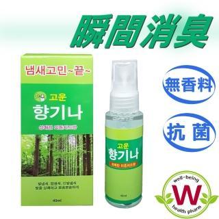 【WBH威必健】除霉味/潮濕異味芬多精抗菌除臭噴霧(40ml)