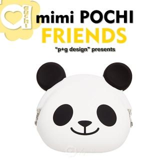 ~p g design~mimi POCHI FRIENDS 繽紛馬戲團系列 立體動物 零錢包 收納包 微笑熊貓