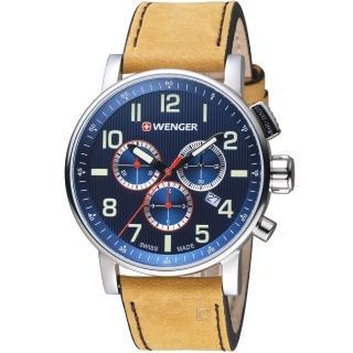 【瑞士WENGER】Attitude 態度系列 城市探索計時腕錶(01.0343.101)