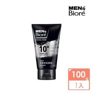 【MENS Biore】控油去角質洗面乳(100g)