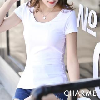 【charme】舒棉免穿內衣T恤(觸感柔軟親膚性佳)