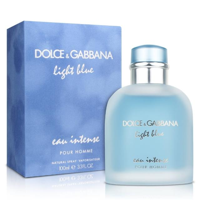 【D&G】Light Blue eau intense 淺藍男性淡香精(100ml)