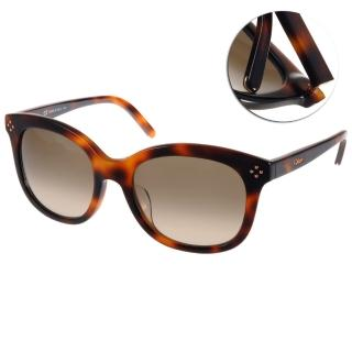 【Chloe 太陽眼鏡】時尚魅力名媛款眼鏡(琥珀#CL669SA 219)