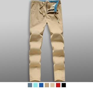 【男人幫大尺碼】高磅硬挺休閒寬鬆直筒美式休閒褲(K0572)