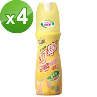 【叮寧】柚香長效防蚊液 120ml*4瓶