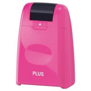 【普樂士】PLUS IS-500CM滾輪個人資料保護章 粉紅
