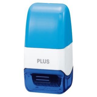 【普樂士】PLUS IS-520CM滾輪個人資料保護章 藍