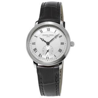 【康斯登 CONSTANT】SLIMLINE超薄系列小秒針女腕錶(FC-235M1S6)