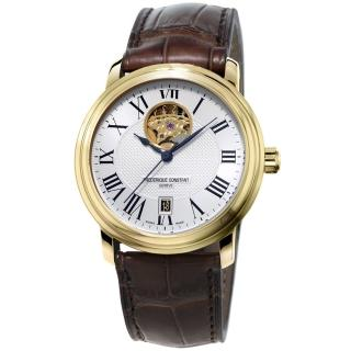 【康斯登 CONSTANT】CLASSICS百年經典系列心跳窗口腕錶(FC-315M4P5)