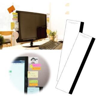 【kiret】韓國 電腦螢幕 便利貼 留言板-側邊 顯示器MEMO板備忘錄(告別凌亂 提升工作效率)