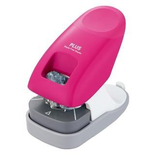 【普樂士】PLUS SL-112A無針訂書機12枚 粉紅