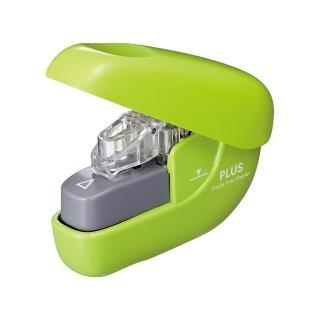 【普樂士】PLUS SL-106NB無針訂書機6枚 綠