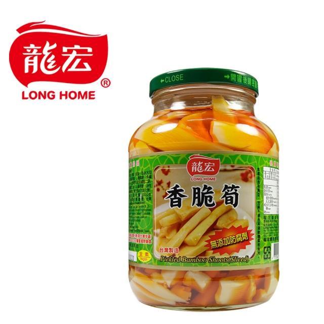 【龍宏】香脆筍760g