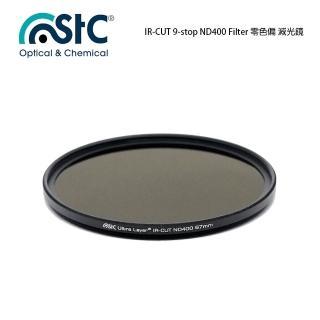 【STC】IR-CUT 9-stop ND400 Filter(77mm 零色偏ND400減光鏡)