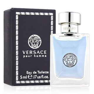 【Versace凡賽斯】組合-經典男性淡香水小香(5ml)