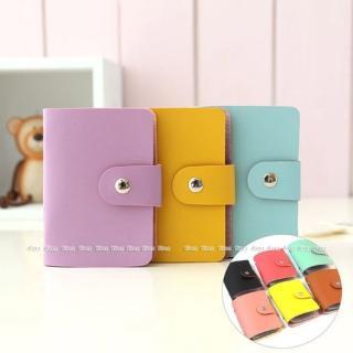 【kiret】韓國皮質卡包多層 卡片夾可放24枚(卡片 信用卡 金融卡 悠游卡 名片 證件 收納包)